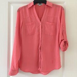Express Portofino Shirt with Convertible Sleeves